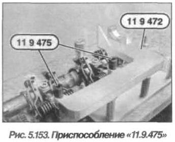 Рис. 5.153. Приспособление 11.9.475 БМВ Х5 Е53 N62
