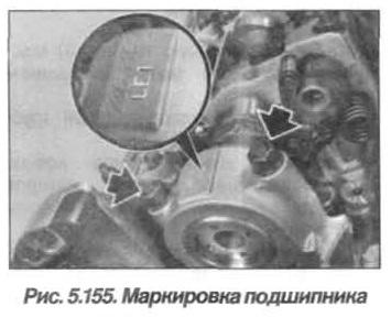 Рис. 5.155. Маркировка подшипника БМВ Х5 Е53 N62