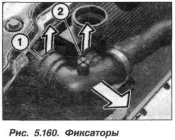 Рис. 5.160. Фиксаторы БМВ Х5 Е53 N62