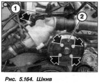 Рис. 5.164. Шкив БМВ Х5 Е53 N62