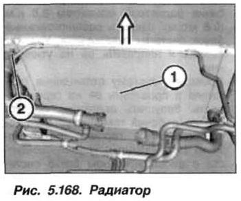 Рис. 5.168. Радиатор БМВ Х5 Е53 N62