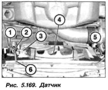 Рис. 5.169. Датчик БМВ Х5 Е53 N62