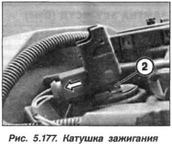 Рис. 5.177. Катушка зажигания БМВ Х5 Е53 N62