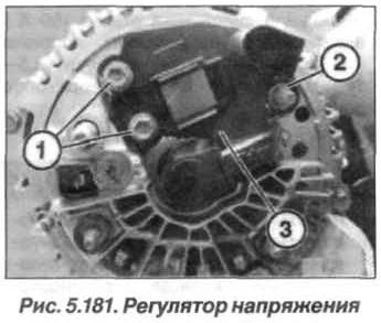 Рис. 5.181. Регулятор напряжения БМВ Х5 Е53 N62