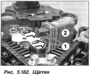 Рис. 5.182. Щетки БМВ Х5 Е53 N62