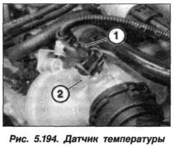 Рис. 5.194. Датчик температуры БМВ Х5 Е53 N62