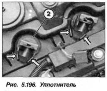 Рис. 5.196. Уплотнитель БМВ Х5 Е53 N62