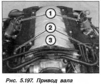 Рис. 5.197. Привод вала БМВ Х5 Е53 N62