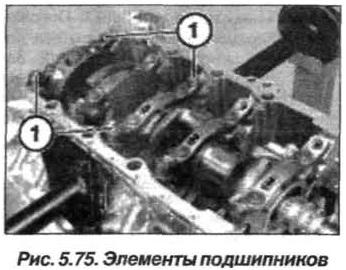 Рис. 5.75. Элементы подшипников БМВ Х5 Е53 N62