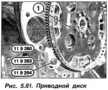 Рис. 5.81. Приводной диск БМВ Х5 Е53 N62