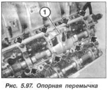 Рис. 5.97. Опорная перемычка БМВ Х5 Е53 N62