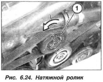 Рис. 6.24. Натяжной ролик БМВ Х5 Е53