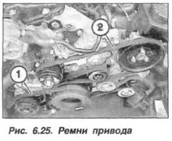Рис. 6.25. Ремни привода БМВ Х5 Е53