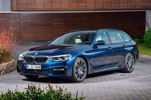 Баварский концерн бьет вековые рекорды и делает BMW 5-Series Touring универсалом