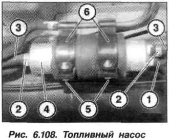 Рис. 6.108. Топливный насос БМВ Х5 Е53