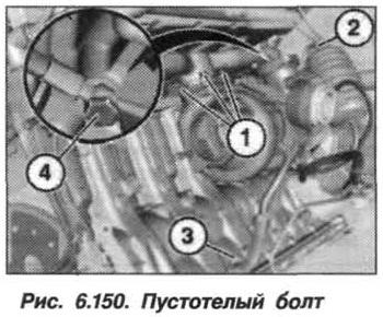 Рис. 6.150. Пустотелый болт БМВ Х5 Е53
