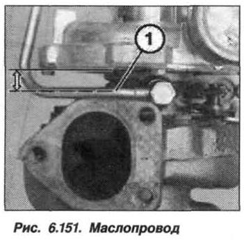 Рис. 6.151. Маслопровод БМВ Х5 Е53