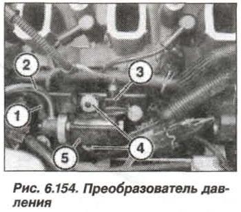 Рис. 6.154. Преобразователь давления БМВ Х5 Е53