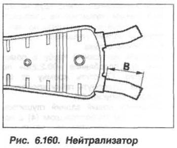 Рис. 6.160. Нейтрализатор БМВ Х5 Е53