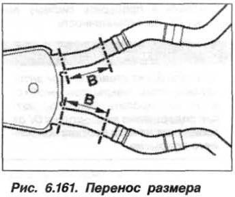 Рис. 6.161. Перенос размера БМВ Х5 Е53