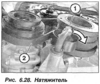 Рис. 6.28. Натяжитель БМВ Х5 Е53