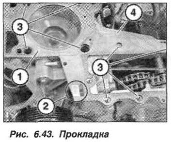 Рис. 6.43. Прокладка БМВ Х5 Е53