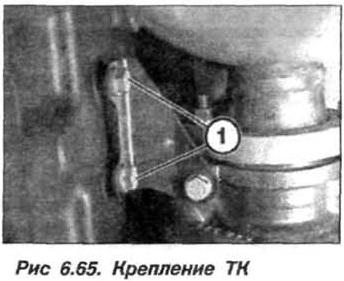 Рис. 6.65. Крепление ТК БМВ Х5 Е53