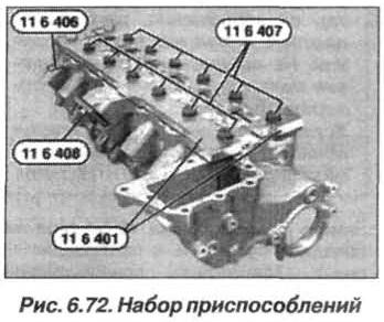 Рис. 6.72. Набор приспособлений БМВ Х5 Е53