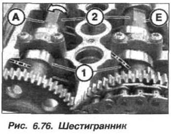 Рис. 6.76. Шестигранник БМВ Х5 Е53