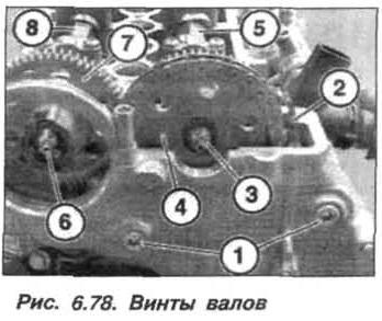 Рис. 6.78. Винты валов БМВ Х5 Е53