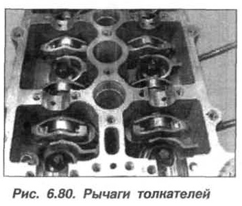 Рис. 6.80. Рычаги толкателей БМВ Х5 Е53