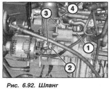 Рис. 6.92. Шланг БМВ Х5 Е53