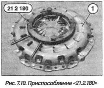 Рис. 7.10. Приспособление 21.2.180 БМВ Х5 Е53