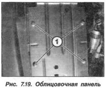 Рис. 7.19. Облицовочная панель БМВ Х5 Е53