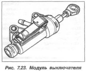 Рис. 7.23. Модуль выключателя БМВ Х5 Е53