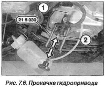 Рис. 7.6. Прокладка гидропривода БМВ Х5 Е53