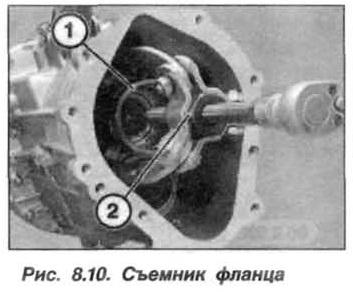 Рис. 8.10. Съемник фланца БМВ Х5 Е53