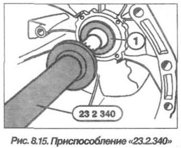 Рис. 8.15. Приспособление 23.2.340 БМВ Х5 Е53