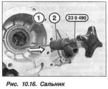Рис. 10.16. Сальник БМВ Х5 Е53