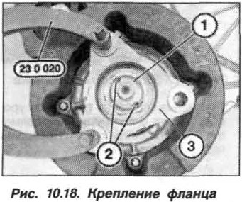 Рис. 10.18. Крепление фланца БМВ Х5 Е53
