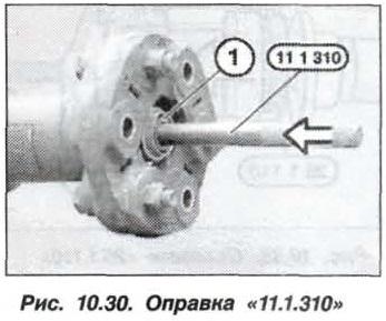 Рис. 10.30. Оправка 11.1.310 БМВ Х5 Е53