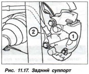 Рис. 11.17. Задний суппорт БМВ Х5 Е53