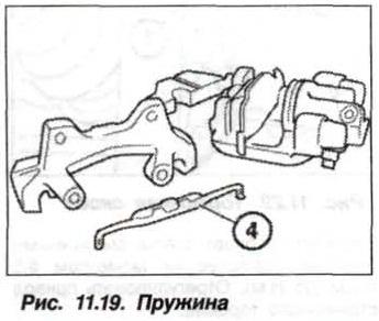 Рис. 11.19 Пружина БМВ Х5 Е53