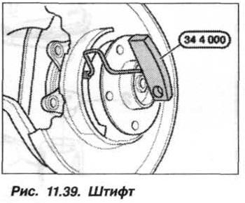 Рис. 11.39. Штифт БМВ Х5 Е53