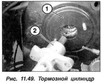 Рис. 11.49. Тормозной цилиндр БМВ Х5 Е53
