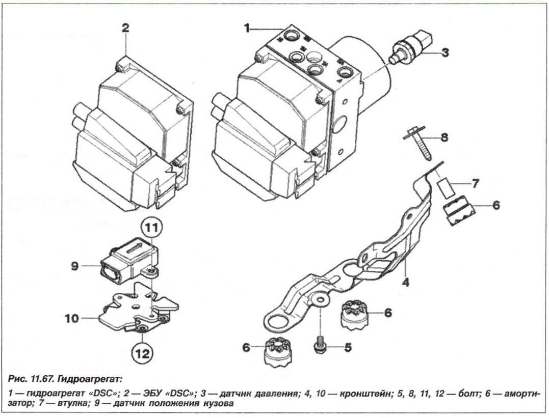 Рис. 11.67. Гидрогенератор БМВ Х5 Е53