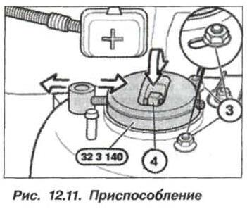 Рис. 12.11. Приспособление БМВ Х5 Е53