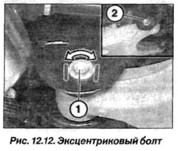 Рис. 12.12. Эксцентриковый болт БМВ Х5 Е53