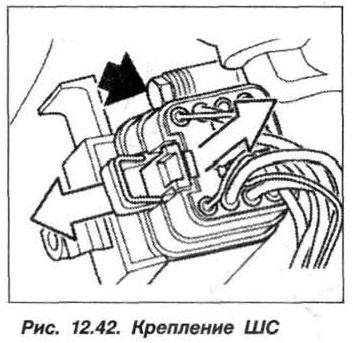 Рис. 12.42. Крепление ШС БМВ Х5 Е53