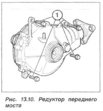 Рис. 13.10. Редуктор переднего моста БМВ Х5 Е53